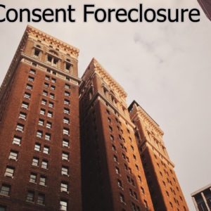 consent foreclosure