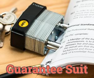 guarantee suit